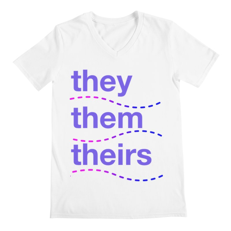 TCH they swag Men's Regular V-Neck by transchancehealth's Artist Shop