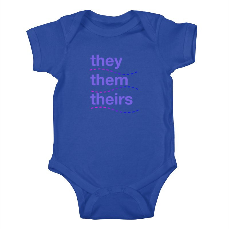 TCH they swag Kids Baby Bodysuit by transchancehealth's Artist Shop