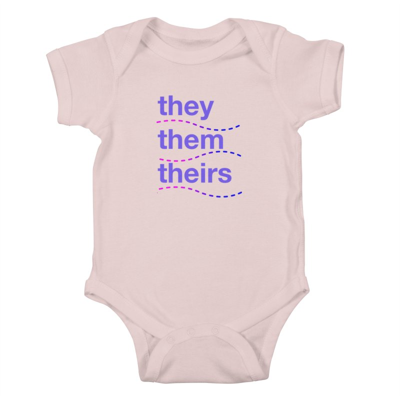 TCH they swag Kids Baby Bodysuit by Transchance Health's Artist Shop