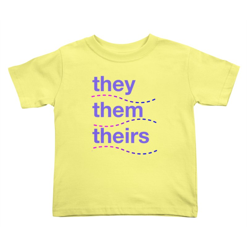 TCH they swag Kids Toddler T-Shirt by Transchance Health's Artist Shop