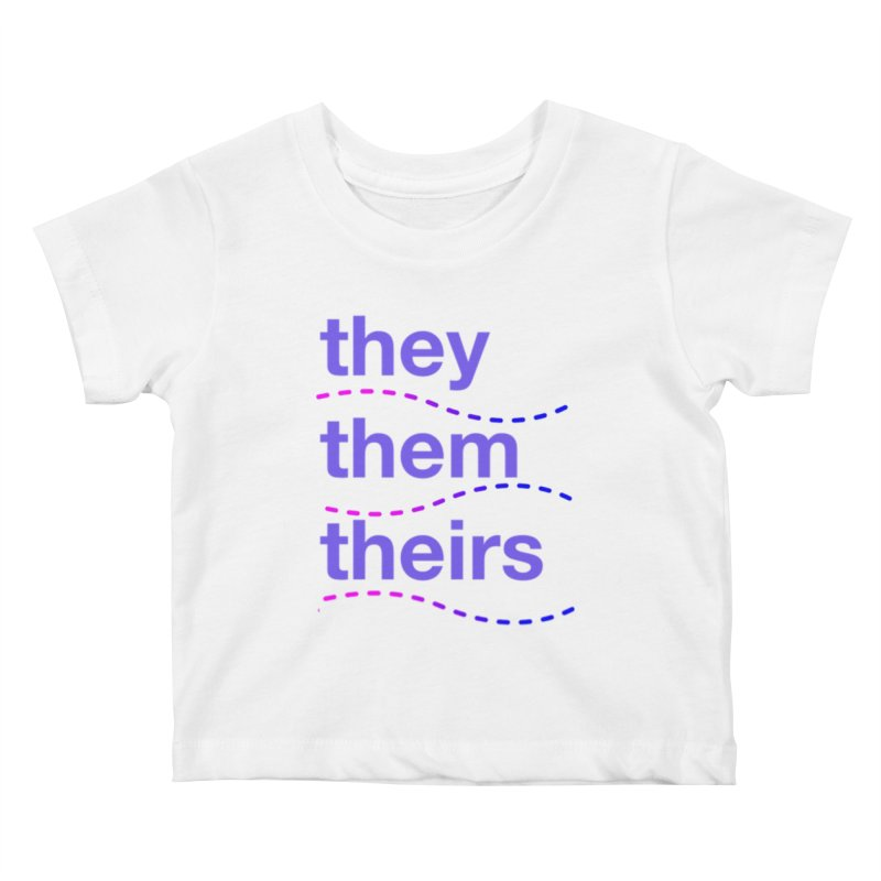 TCH they swag Kids Baby T-Shirt by Transchance Health's Artist Shop