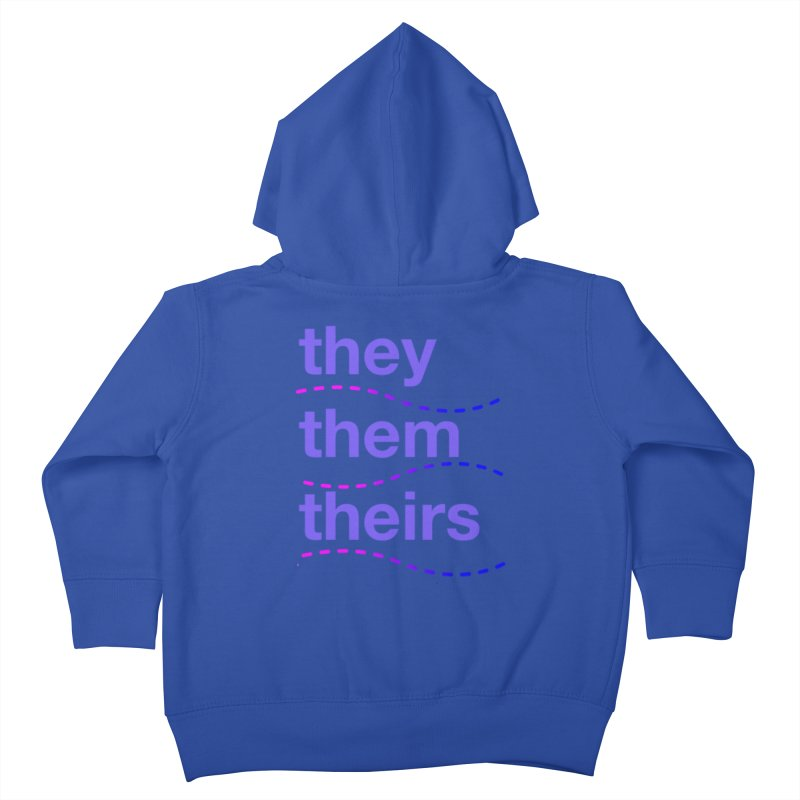 TCH they swag Kids Toddler Zip-Up Hoody by Transchance Health's Artist Shop