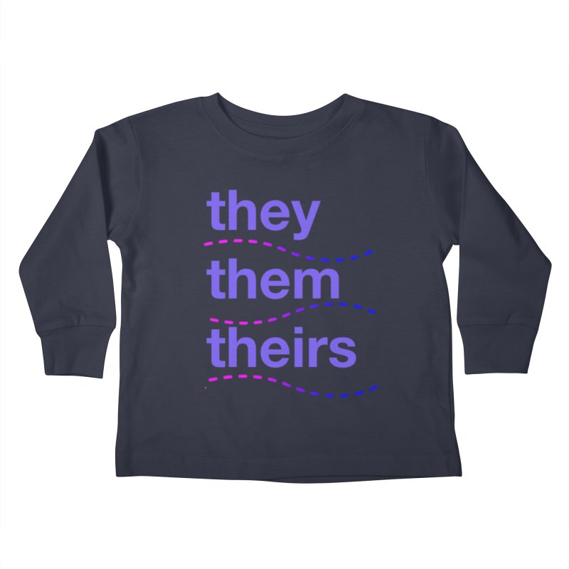 TCH they swag Kids Toddler Longsleeve T-Shirt by transchancehealth's Artist Shop
