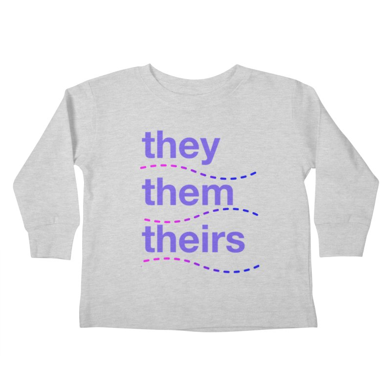 TCH they swag Kids Toddler Longsleeve T-Shirt by Transchance Health's Artist Shop