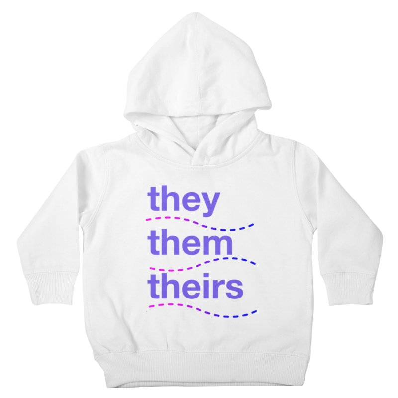 TCH they swag Kids Toddler Pullover Hoody by Transchance Health's Artist Shop