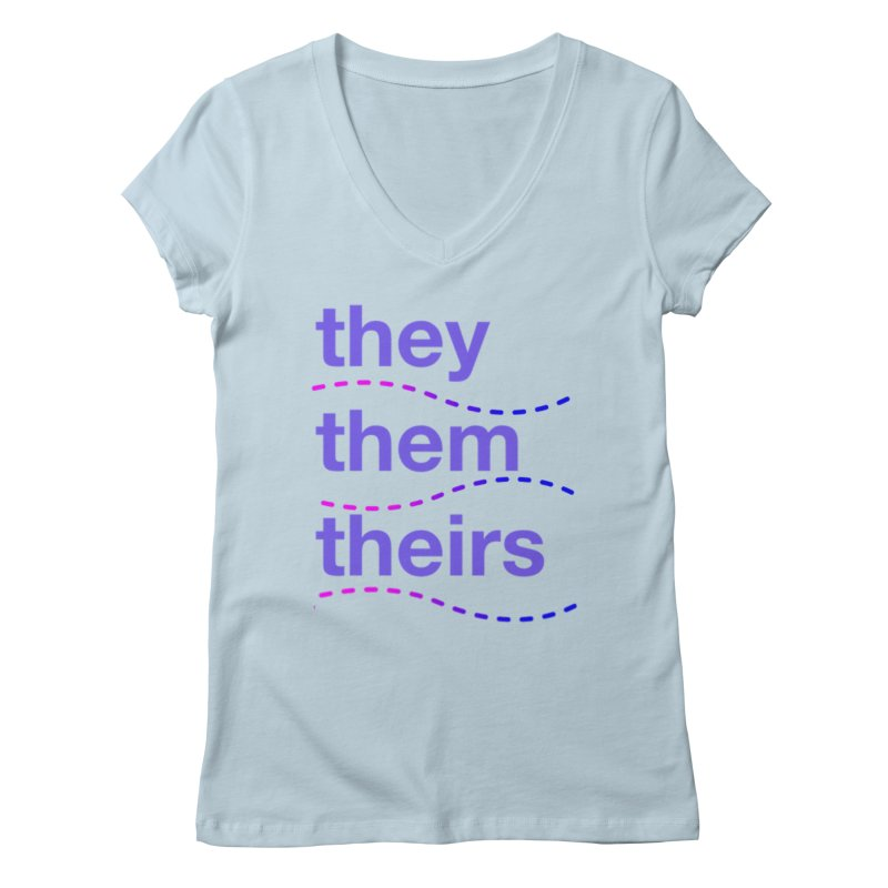 TCH they swag Women's Regular V-Neck by transchancehealth's Artist Shop