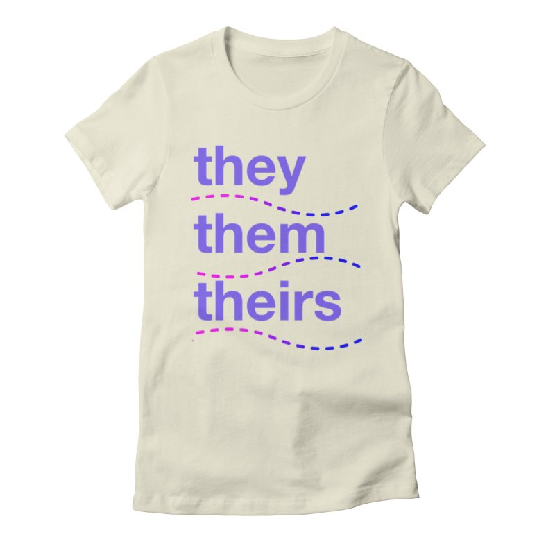 TCH they swag Women's Fitted T-Shirt by transchancehealth's Artist Shop