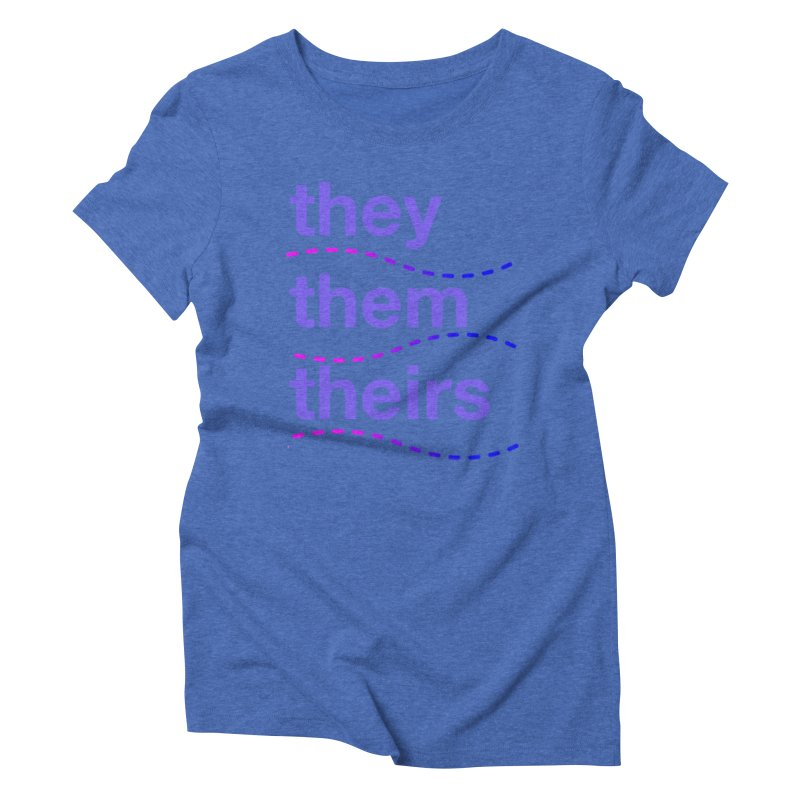 TCH they swag Women's Triblend T-Shirt by Transchance Health's Artist Shop