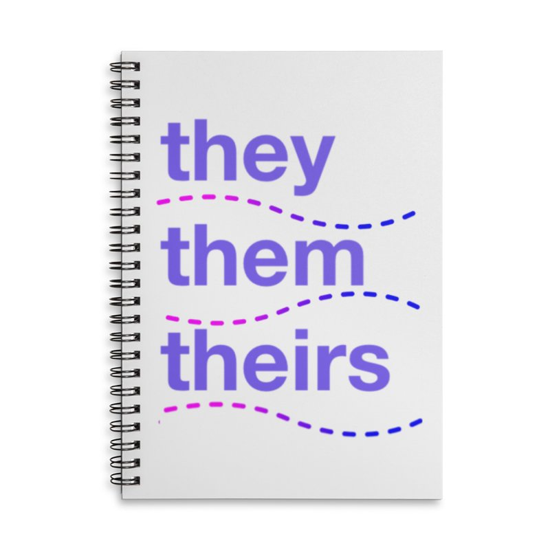 TCH they swag Accessories Lined Spiral Notebook by Transchance Health's Artist Shop