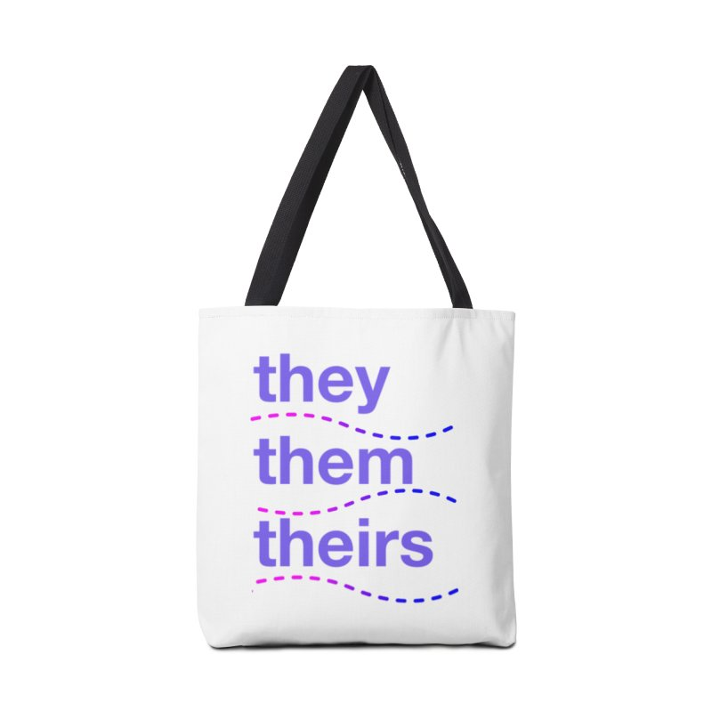 TCH they swag Accessories Tote Bag Bag by Transchance Health's Artist Shop