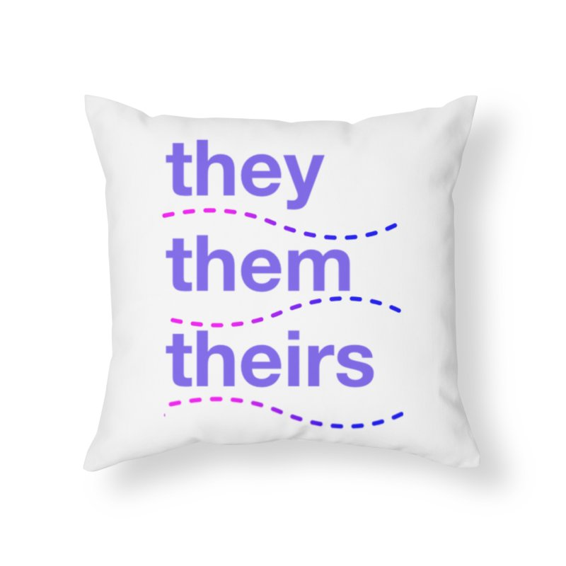 TCH they swag Home Throw Pillow by Transchance Health's Artist Shop