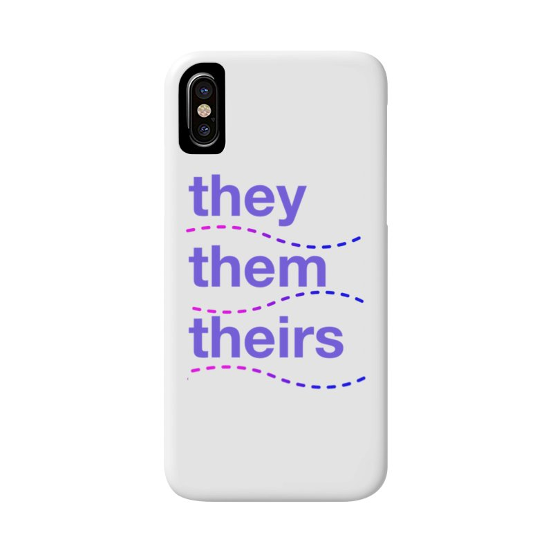 TCH they swag Accessories Phone Case by Transchance Health's Artist Shop