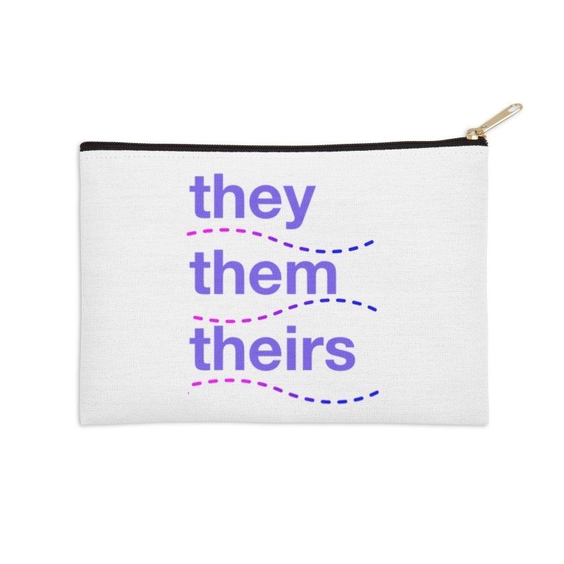 TCH they swag Accessories Zip Pouch by Transchance Health's Artist Shop