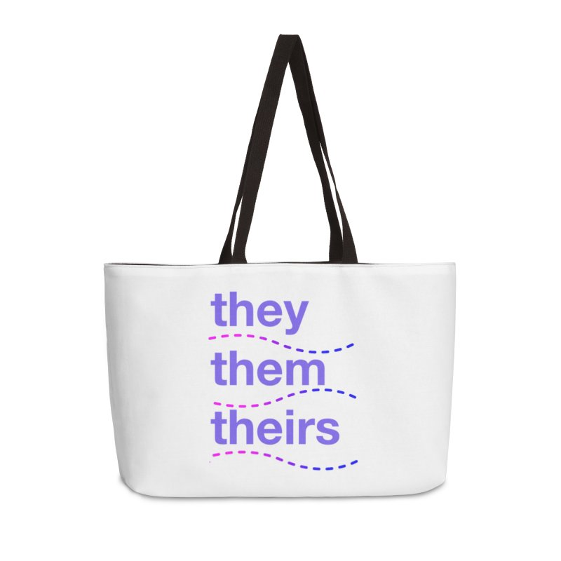 TCH they swag Accessories Weekender Bag Bag by Transchance Health's Artist Shop