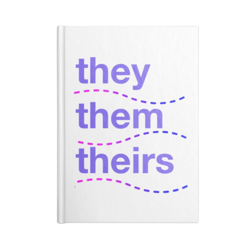 TCH they swag Accessories Lined Journal Notebook by Transchance Health's Artist Shop