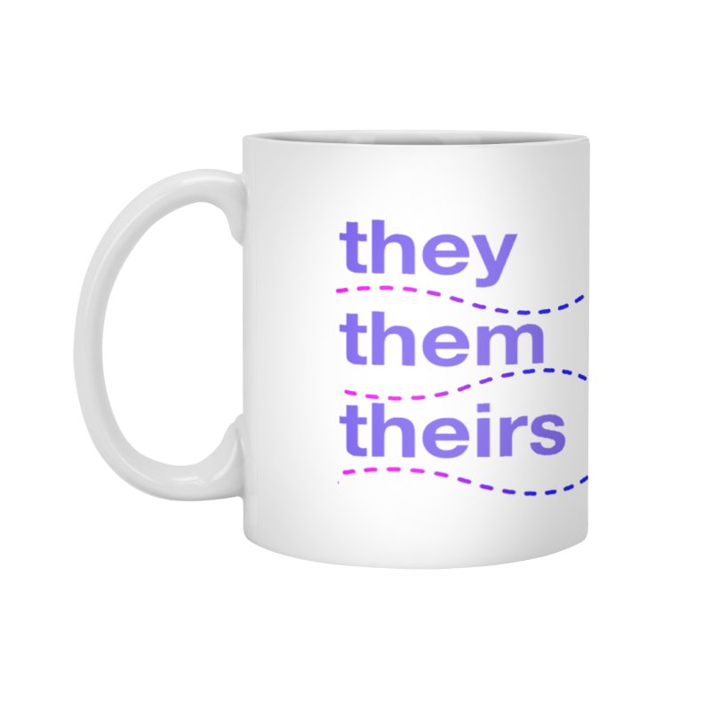 TCH they swag Accessories Mug by Transchance Health's Artist Shop