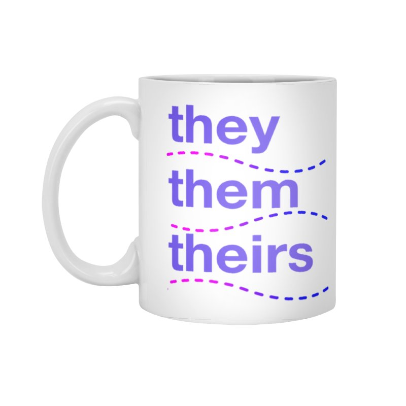 TCH they swag Accessories Standard Mug by Transchance Health's Artist Shop