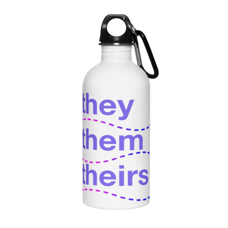 TCH they swag Accessories Water Bottle by Transchance Health's Artist Shop