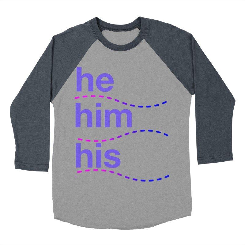 TCH he swag Men's Baseball Triblend Longsleeve T-Shirt by Transchance Health's Artist Shop