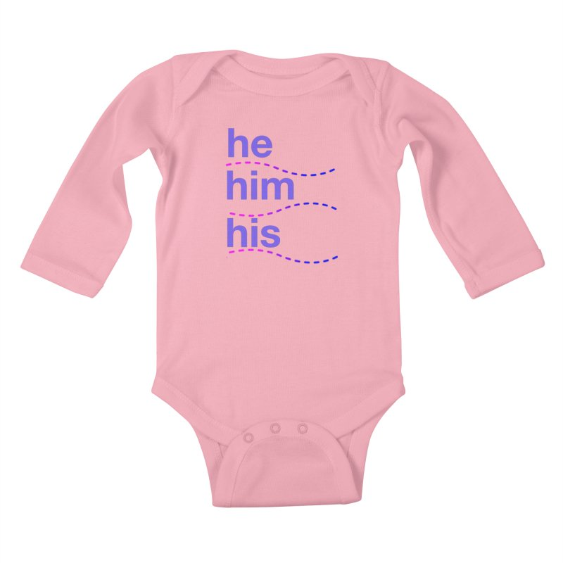 TCH he swag Kids Baby Longsleeve Bodysuit by transchancehealth's Artist Shop