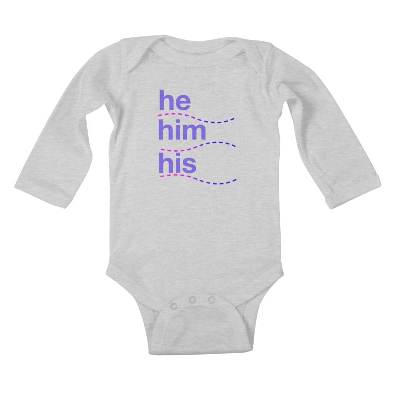 TCH he swag Kids Baby Longsleeve Bodysuit by Transchance Health's Artist Shop
