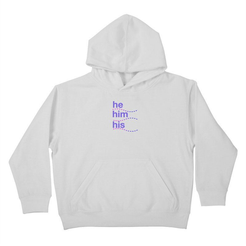 TCH he swag Kids Pullover Hoody by Transchance Health's Artist Shop