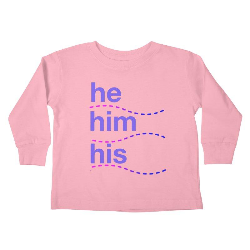 TCH he swag Kids Toddler Longsleeve T-Shirt by Transchance Health's Artist Shop