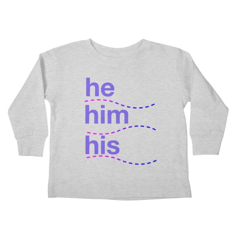 TCH he swag Kids Toddler Longsleeve T-Shirt by transchancehealth's Artist Shop