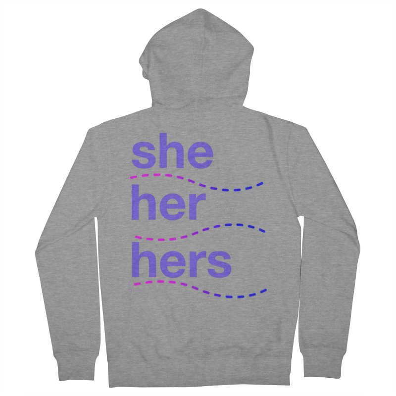 TCH she swag Men's French Terry Zip-Up Hoody by Transchance Health's Artist Shop