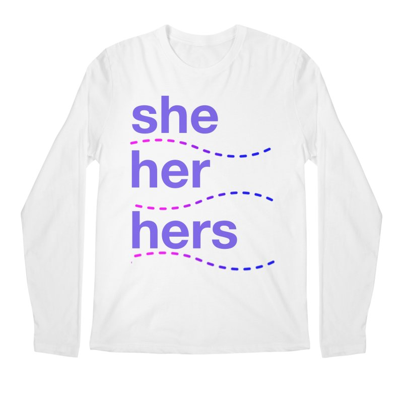 TCH she swag Men's Regular Longsleeve T-Shirt by transchancehealth's Artist Shop