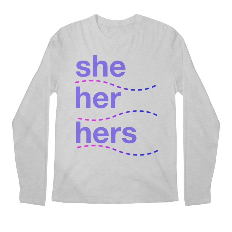 TCH she swag Men's Longsleeve T-Shirt by Transchance Health's Artist Shop