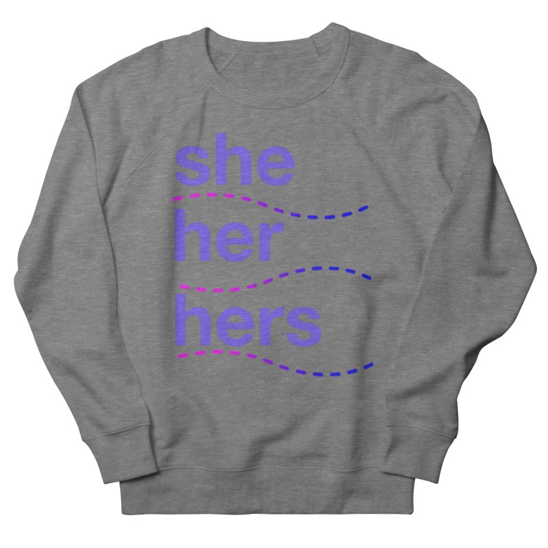 TCH she swag Men's French Terry Sweatshirt by Transchance Health's Artist Shop