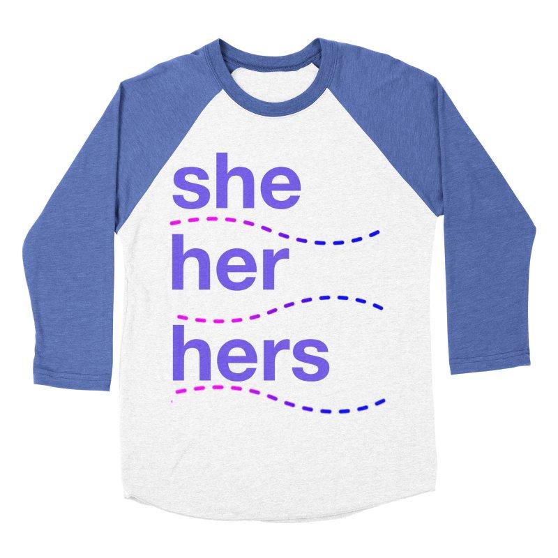 TCH she swag Women's Baseball Triblend Longsleeve T-Shirt by Transchance Health's Artist Shop