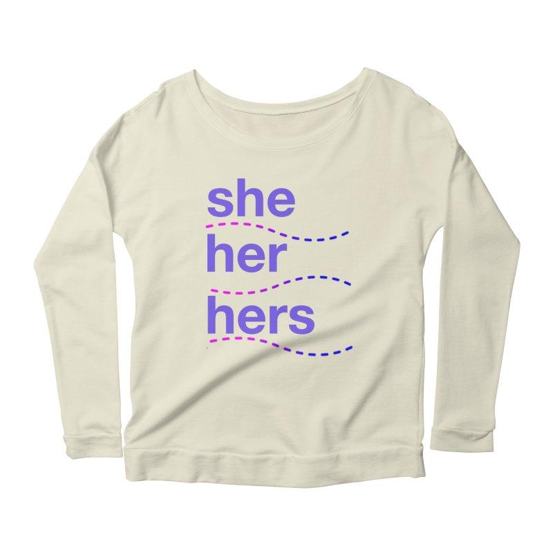 TCH she swag Women's Scoop Neck Longsleeve T-Shirt by Transchance Health's Artist Shop