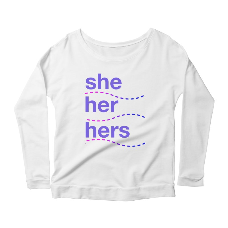 TCH she swag Women's Scoop Neck Longsleeve T-Shirt by transchancehealth's Artist Shop
