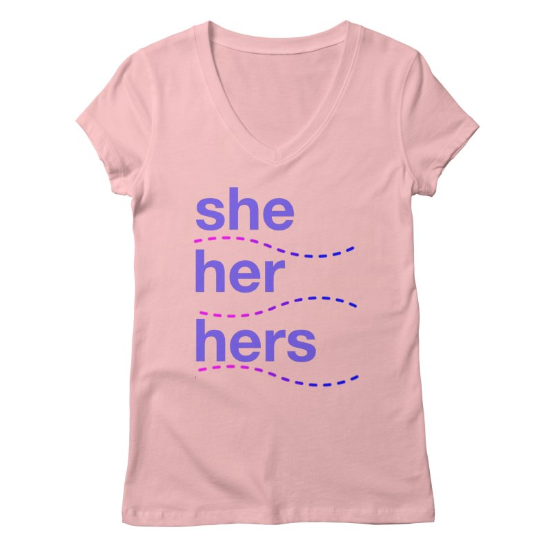 TCH she swag Women's Regular V-Neck by Transchance Health's Artist Shop