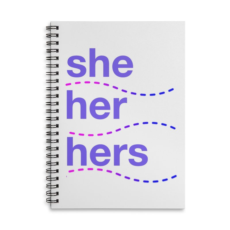 TCH she swag Accessories Notebook by Transchance Health's Artist Shop