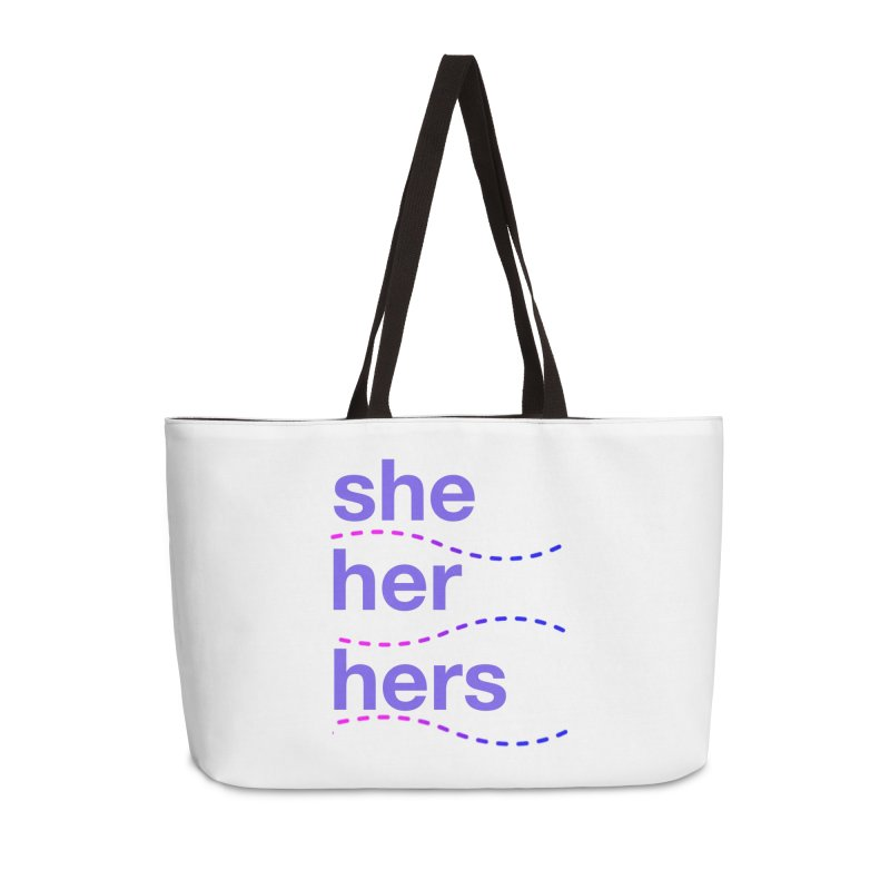 TCH she swag Accessories Weekender Bag Bag by Transchance Health's Artist Shop