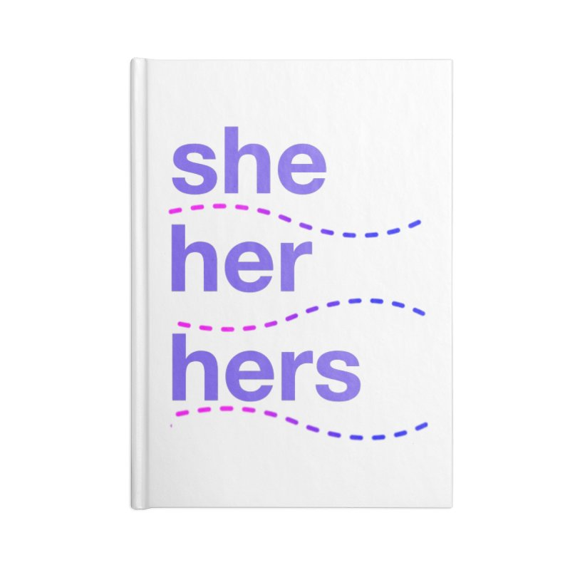 TCH she swag Accessories Lined Journal Notebook by Transchance Health's Artist Shop