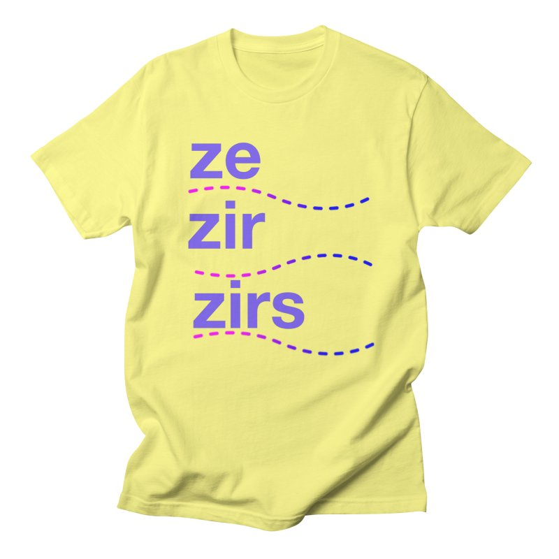 TCH ze zir swag Men's T-Shirt by Transchance Health's Artist Shop