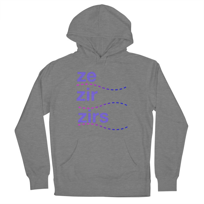 TCH ze zir swag Men's French Terry Pullover Hoody by Transchance Health's Artist Shop