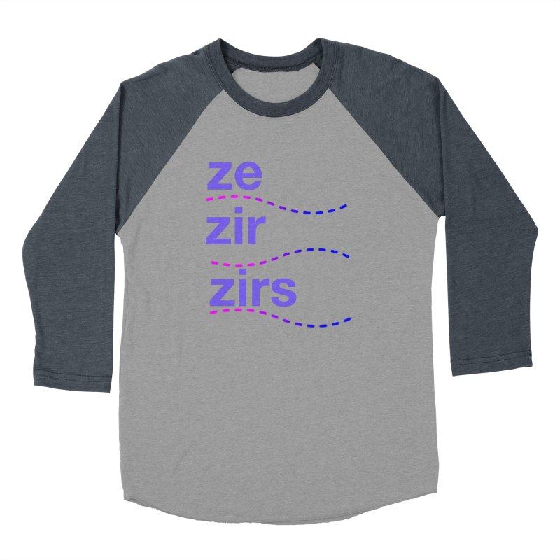 TCH ze zir swag Men's Baseball Triblend Longsleeve T-Shirt by Transchance Health's Artist Shop