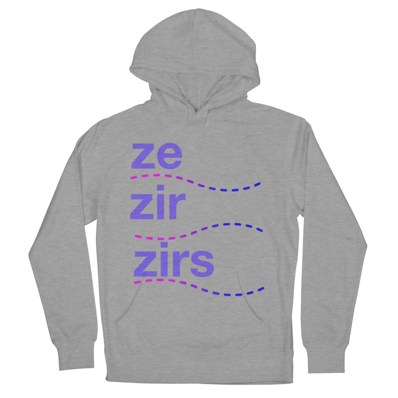 TCH ze zir swag Women's French Terry Pullover Hoody by Transchance Health's Artist Shop