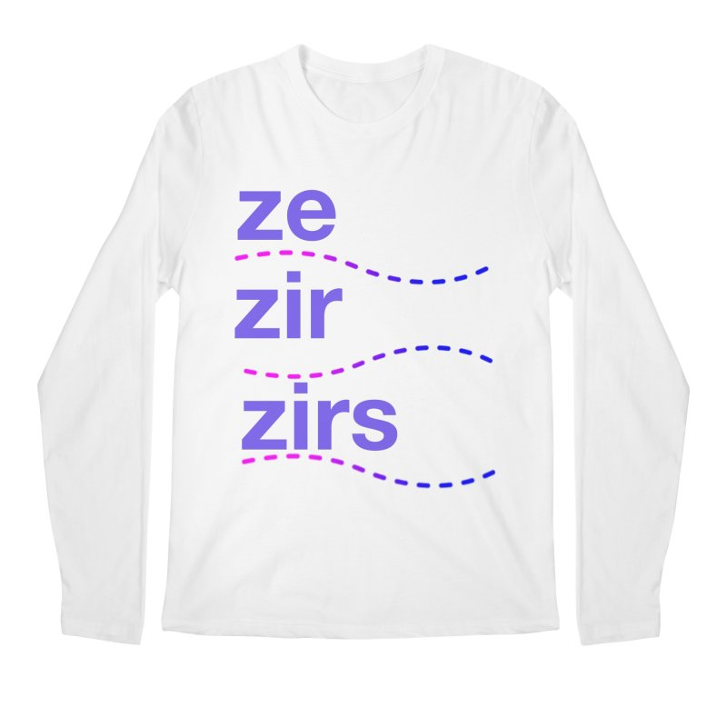 TCH ze zir swag Men's Regular Longsleeve T-Shirt by transchancehealth's Artist Shop