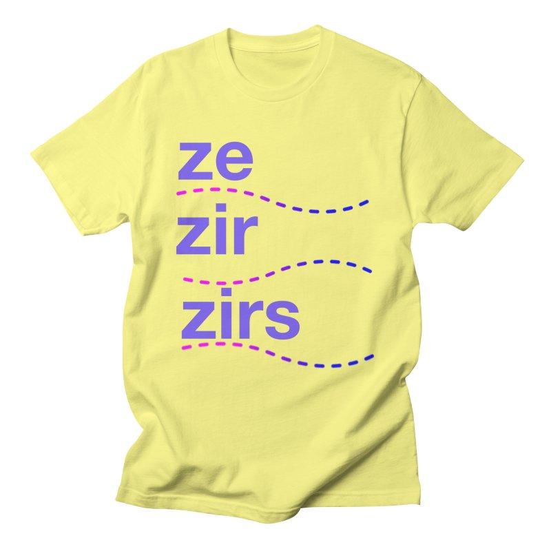 TCH ze zir swag Men's T-Shirt by Transchance Health's Artist Shop