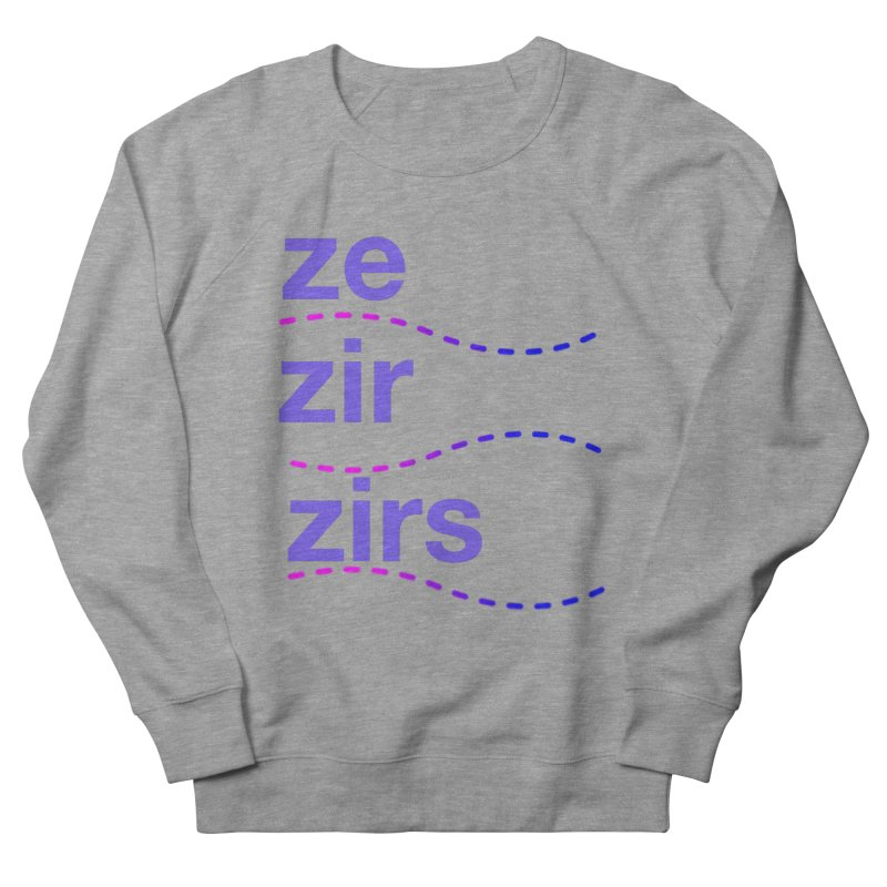 TCH ze zir swag Women's French Terry Sweatshirt by transchancehealth's Artist Shop