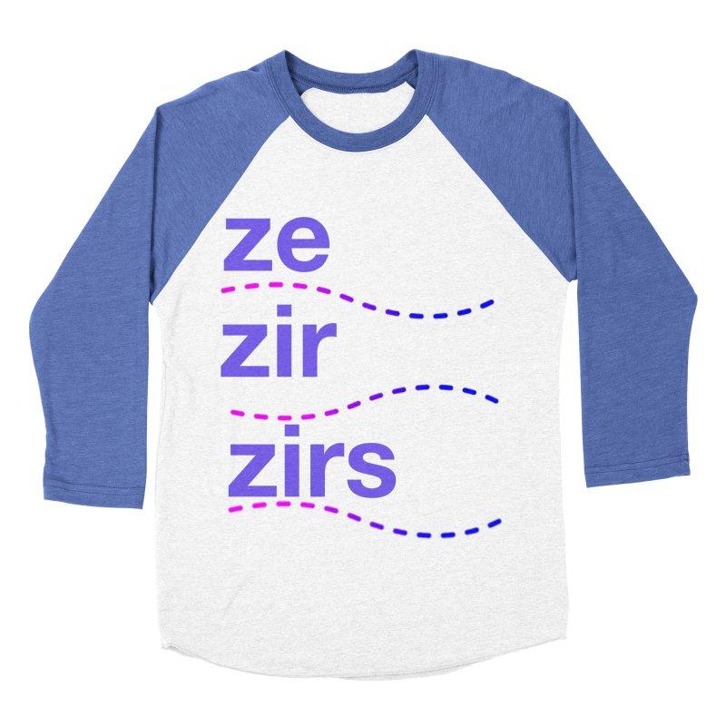 TCH ze zir swag Women's Baseball Triblend Longsleeve T-Shirt by Transchance Health's Artist Shop