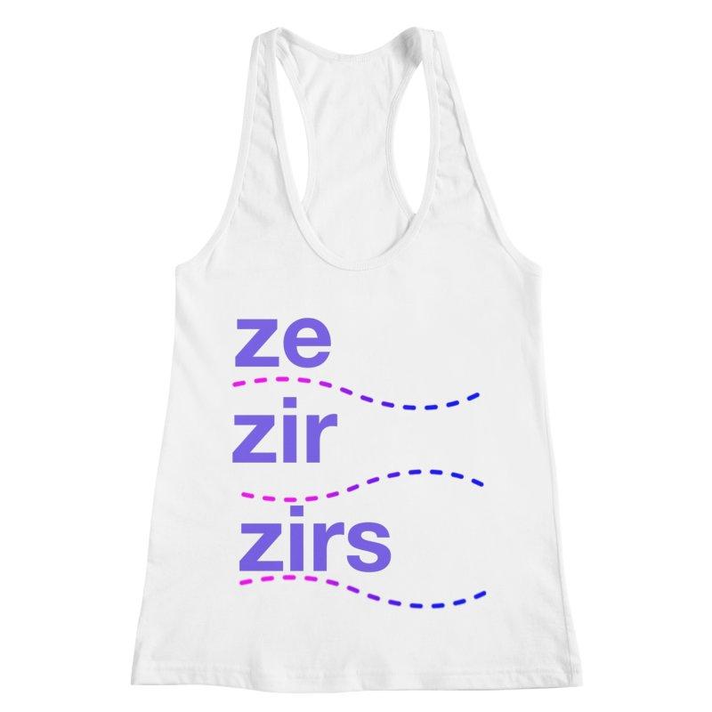 TCH ze zir swag Women's Tank by Transchance Health's Artist Shop