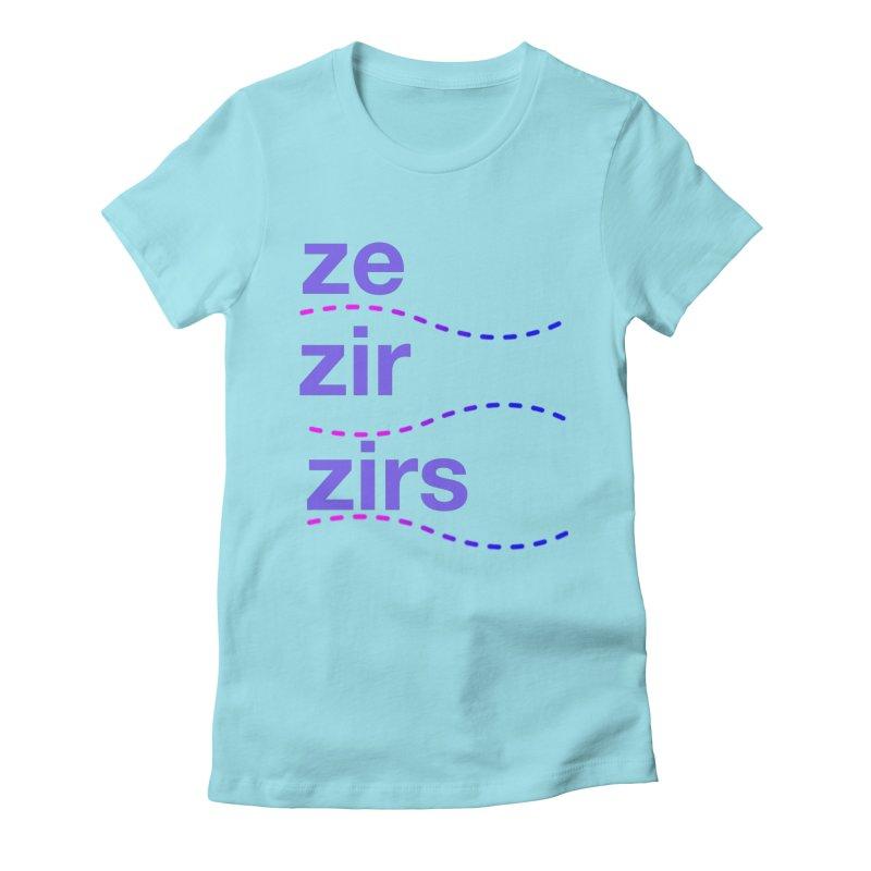 TCH ze zir swag Women's T-Shirt by Transchance Health's Artist Shop