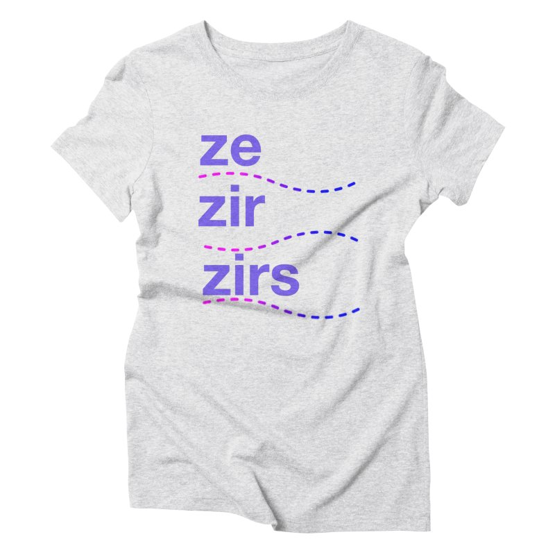 TCH ze zir swag Women's Triblend T-Shirt by Transchance Health's Artist Shop